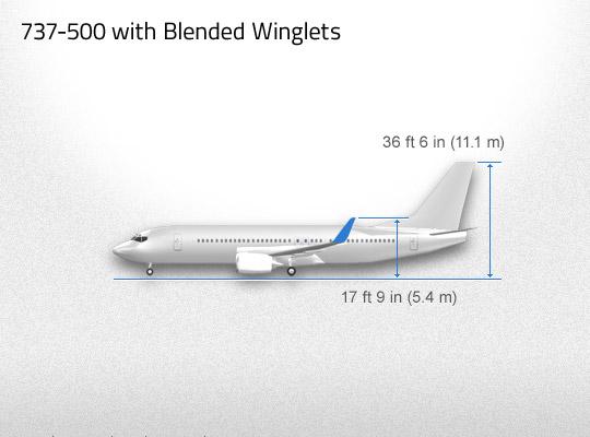 737 500 Aviation Partners Boeing